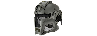 INTERSTELLAR BATTLE TROOPER FULL FACE AIRSOFT HELMET (FOLIAGE GREEN)