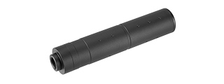 LANCER TACTICAL 155MM ALUMINUM DOT MOCK SUPPRESSOR (BLACK)