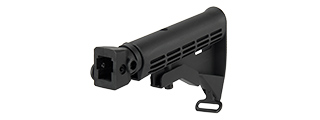 C56 AK Series Stock Adapter w/ 6-Position LE Stock (BLACK)