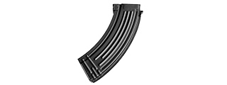E&L 120RD AIRSOFT MID CAP MAGAZINE FOR AK-47 AEG RIFLE (BLACK)