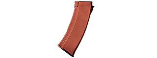 E&L 120RD AIRSOFT MID CAP MAGAZINE FOR AK-74 AEG RIFLE (ORANGE)