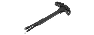E&L AIRSOFT HARD COAT ANODIZED DIE CAST AMBI CHARGING HANDLE (BLACK)