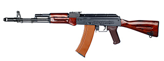 E&L AK74N REAL WOOD AIRSOFT AEG - PLATINUM (BLACK)