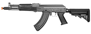 E&L AK104PMC-A GEN. 2 CARBINE AIRSOFT AEG - PLATINUM (BLACK)