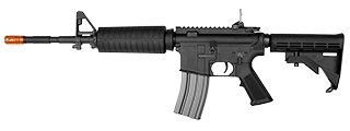 E&L FULL METAL AR M4A1 AIRSOFT AEG - ELITE (BLACK)
