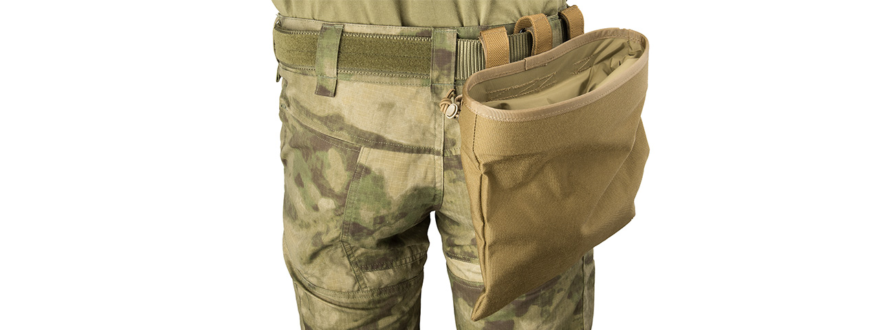 Flyye Industries MOLLE Roll-Up Drop Dump Pouch (COYOTE BROWN)