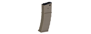 LONEX POLYMER 360 ROUND TEXTURED HI CAPACITY FLASH MAGAZINE (TAN)