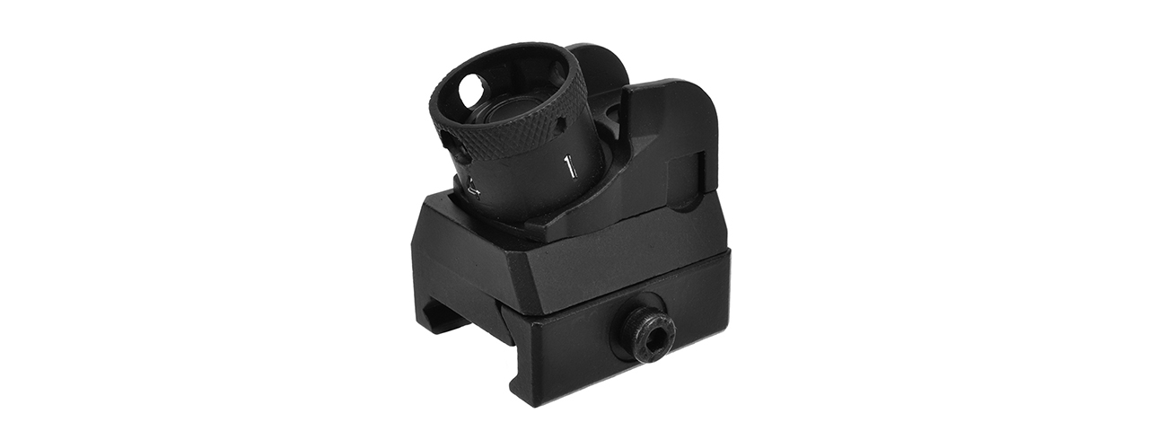 GOLDEN EAGLE FULL METAL DIOPTER STYLE REAR SIGHT (BLACK)