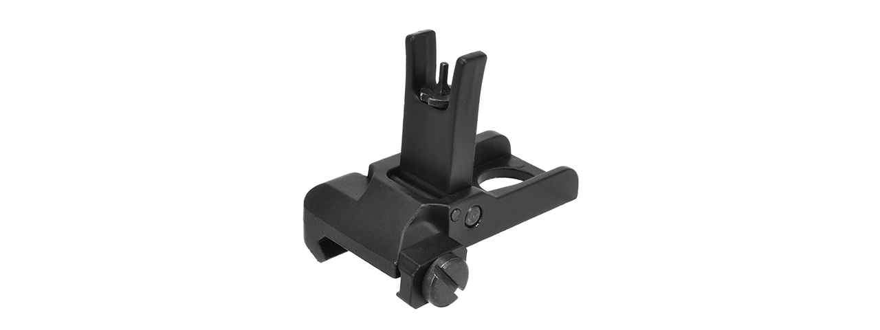 GOLDEN EAGLE LOW PROFILE FLIP-UP FULL METAL FRONT SIGHT