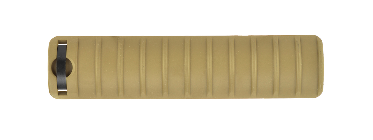 "GOLDEN EAGLE 6"" POLYMER RAIL COVER PANEL 4-PACK (TAN)"