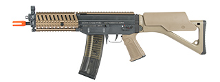 ICS AIRSOFT SIG SG 552 MRS FULL METAL AEG W/ TOP RAIL- DARK EARTH