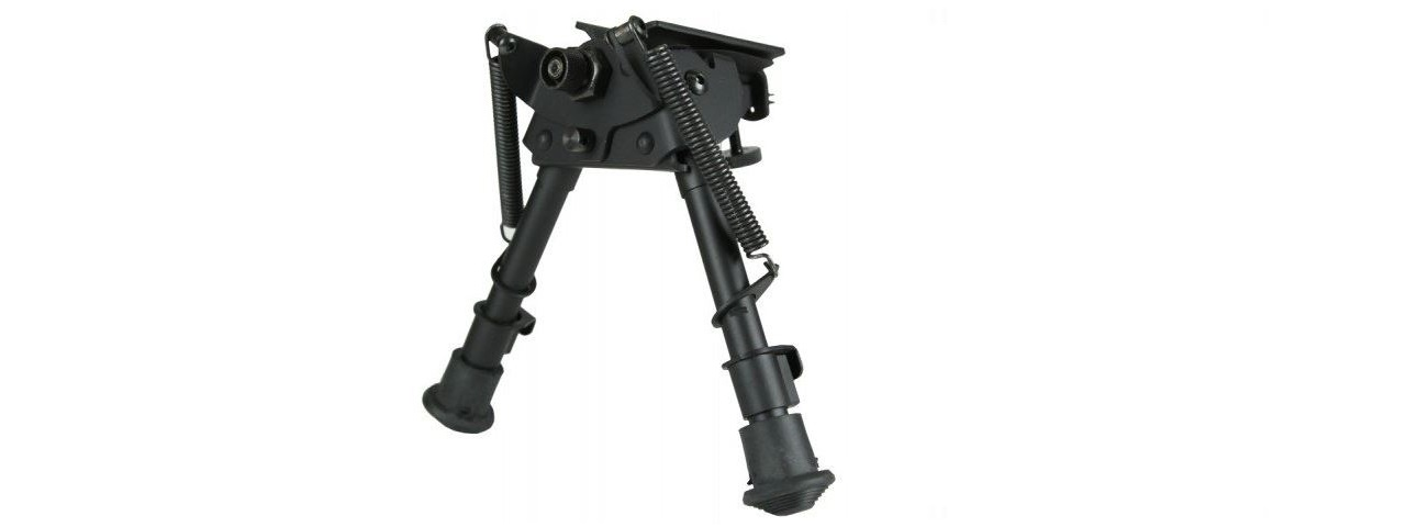 ECHO 1 SPRING LOADED BIPOD STAND FOR M28 SNIPER RIFLE (BLACK)