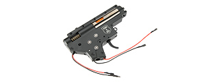 ECHO 1 8MM METAL VERSION 2 M4 AEG REAR WIRED AIRSOFT COMPLETE GEARBOX