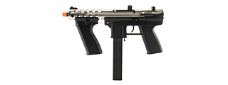 ECHO 1 GENERAL ASSAULT TOOL (GAT) AIRSOFT AEG SUBMACHINE GUN (CHROME)