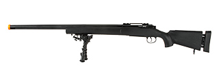 ECHO 1 M28 BOLT ACTION SNIPER RIFLE W/ BIPOD (BLACK)