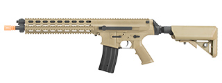 ECHO 1 ROBINSON ARMAMENT LICENSED XCR-L AIRSOFT AEG RIFLE (DESERT TAN)