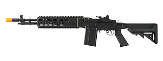 ECHO 1 FULL METAL M14 COMBAT MASTER BATTLE RIFLE AIRSOFT AEG (BLACK)