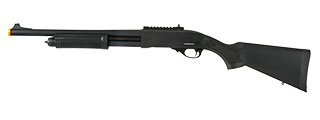 JAG ARMS SCATTERGUN HD AIRSOFT GAS SHOTGUN - STANDARD TUBE (BLACK)