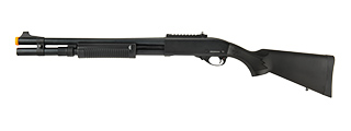JAG ARMS SCATTERGUN HDS AIRSOFT GAS SHOTGUN - EXTENDED TUBE (BLACK)