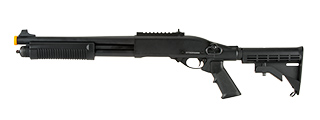 JAG ARMS SCATTERGUN TS AIRSOFT GAS SHOTGUN (BLACK)