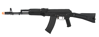 KWA AKR-74M AEG ELECTRIC RECOIL ERG AK74 EBB AIRSOFT RIFLE - BLACK