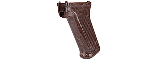 LCT AIRSOFT PISTOL GRIP FOR AK SERIES AEG - DARK BROWN