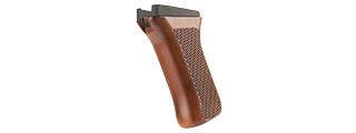 LCT AIRSOFT PISTOL GRIP FOR AK SERIES AEG - WOOD