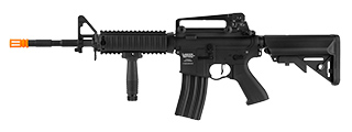 Lancer Tactical LT-04 M4 RIS ProLine AEG [HIGH FPS] (BLACK)