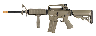 LANCER TACTICAL LT-04 PROLINE SERIES M4 RIS AIRSOFT AEG [HIGH FPS] (TAN)