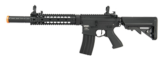 "LANCER TACTICAL M4 SD PROLINE SERIES 9"" RAIL AIRSOFT AEG [HIGH FPS] (BLACK)"