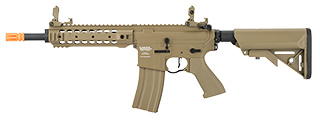Lancer Tactical LT-24 ProLine Series CQB M4 AEG Rifle [HIGH FPS] (TAN)