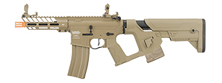 Lancer Tactical Enforcer NEEDLETAIL Skeleton AEG [LOW FPS] (TAN)