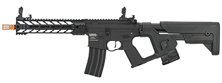 Lancer Tactical Enforcer BATTLE HAWK AEG [HIGH FPS] w/ Alpha Stock (BLACK)
