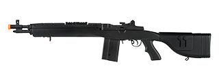 "LANCER TACTICAL LT-732 DMR STOCK 38"" M14 SOCOM AIRSOFT AEG (BLACK)"