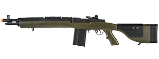 "LANCER TACTICAL LT-732 DMR STOCK 38"" M14 SOCOM AIRSOFT AEG (OD GREEN)"