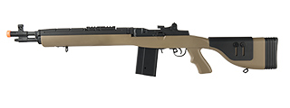 "LANCER TACTICAL LT-732 DMR STOCK 38"" M14 SOCOM AIRSOFT AEG (TAN)"