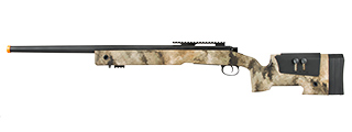 LANCER TACTICAL M40A3 BOLT ACTION AIRSOFT SNIPER RIFLE (AT-AU)