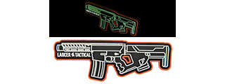 LANCER TACTICAL LT-29 GLOW IN THE DARK PVC ADHESIVE MORALE PATCH