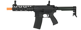 "GOLDEN EAGLE MC6637 ELITE SERIES 7"" KEYMOD CQB GBB AIRSOFT RIFLE (BLACK)"