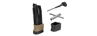 WE Tech 22rd Big Bird CO2 Magazine Set w/ Mag Extenders and Tools