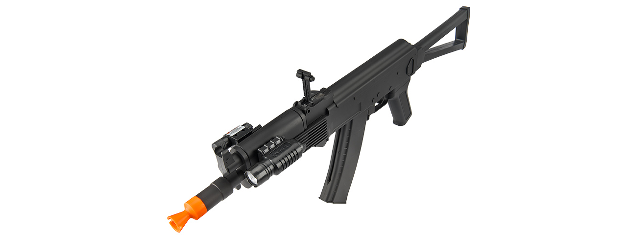 UKARMS P74 AK74 Spring Rifle w/ Laser & Flashlight