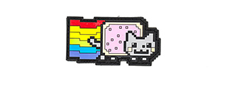 APRILLA DESIGN PVC IFF HOOK & LOOP POP CULTURE SERIES PATCH (MODEL: NYAN CAT)