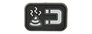 G-FORCE S*** MAGNET PVC MORALE PATCH (GRAY)