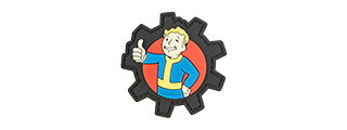 G-FORCE FALLOUT BOY THUMBS UP PVC MORALE PATCH