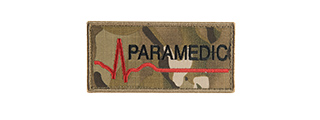 G-FORCE PARAMEDIC EMBROIDERED MORALE PATCH