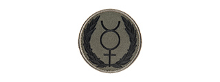 G-FORCE MERCURY SYMBOL EMBROIDERED MORALE PATCH
