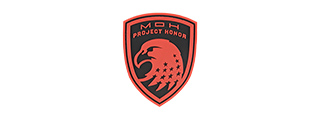 G-FORCE EAGLE USA PROJECT HONOR PVC MORALE PATCH (RED)