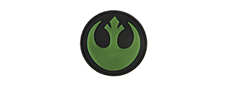 G-FORCE GUERILLA INSIGNIA PVC MORALE PATCH (OD GREEN)