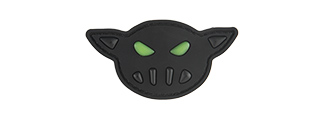 G-FORCE BLACK SHEEP WARRIOR GLOW IN THE DARK FACE PVC MORALE PATCH