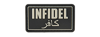 INFIDEL PVC MORALE PATCH (BLACK)